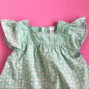 18M Carter's Mint Green Hot Air Balloon Dress